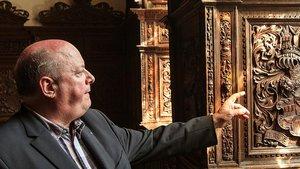 Domkustos Udo Grote schwärmt von der herausragenden Qualität der Holzschnitzereien aus dem 16. Jahrhundert.