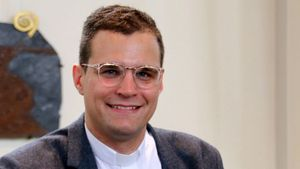 Lukas Hermes ist Kaplan in Liebfrauen in Bocholt.