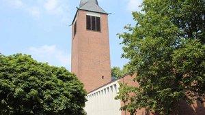 Frühere Dorstener Kirche St. Johannes.