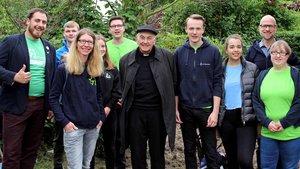 Chillen mit Bischof Genn in Greven