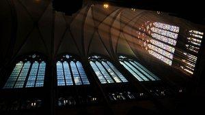 Das abstrakte Fenster von Gerhard Richter im Köln Dom (2007): Gott ist nicht zu erkennen