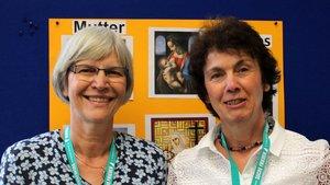 Die beiden Diplom-Psychologinnen Edith Schrameyer (links) und Barbara Werheid arbeiten bei der Ehe-, Familien- und Lebensberatung des Bistums Münster in Dinslaken. | Foto: Karin Weglage