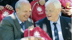 Heinz-Josef Kessmann (links) und Josef Leenders vom Diözesancaritasverband wünschen sich eine breite Beteiligung am Zukunftsprozess des Caritasverbands. | Foto: Caritas
