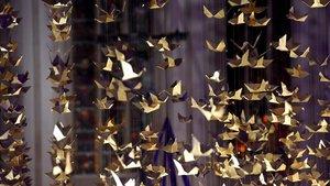 Die Taube ist ein Symbol für den Heiligen Geist.
