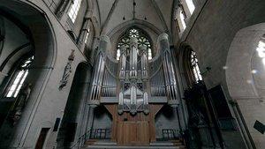Die große Klais-Orgel im Münsteraner Dom.