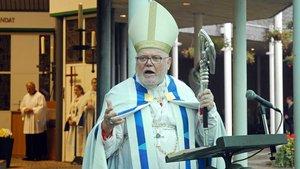Kardinal Reinhard Marx bei seiner Predigt. | Foto: Jürgen Kappel
