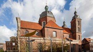 Die Dominikanerkirche in der Salzstraße wurde im November 2017 profaniert. Sie gehört der Stadt Münster. | Foto: Christof Haverkamp