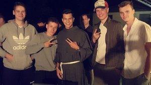 Beste Stimmung bei den Franziskaner-Novizen