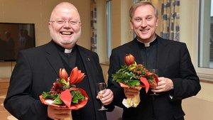 Der neue Offizial Wilfried Theising (rechts) und sein Stellvertreter Monsignore Bernd Winter. | Foto: pd