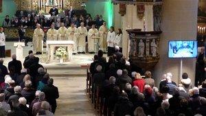 Die Pfarrgemeinde Mariä Himmelfahrt Vechta feierte jetzt die Wiedereröffnung ihrer Pfarrkirche St. Georg. | Foto: Franz Josef Scheeben