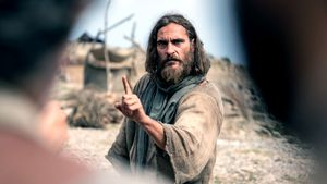 """Film-Szene aus """"Maria Magdalena"""": Jesus (Joaquin Phoenix)"""