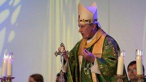 Weihbischof Wilfried Theising bei seiner Predigt. | Foto: Foto: Ludger Heuer (bpv)