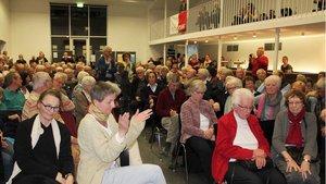Lebhaft war auch die Diskussion unter den  rund 160 Teilnehmern. | Foto: Karin Weglage