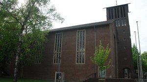 Die Christus-König-Kirche in Kleve