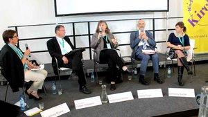 Claudia Lücking-Michel, Weihbischof Ludger Schepers, Heidemarie Winkel, Georg Kraus, Katharina Kunter.