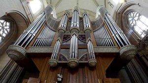 Die Hauptorgel im St.-Paulus-Dom in Münster. | Foto: Michael Bönte