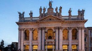 Die Lateran-Basilika ist die Bischofskirche des Papstes.