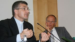 Egidiu Condac leitet die Caritas Iaşi in Rumänien. | Archivfoto: Bernard