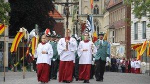Grosse Prozession 2019.
