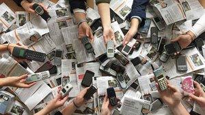 Alte Handys können auf dem Katholikentag an Missio gespendet werden.