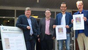 Rupert König, Markus Kortewille, Marius Stelzer und Pfarrer Ulrich Laws. | Foto: Ann-Christi