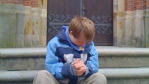 Tim mit 15 Jahren.