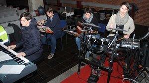 Die Aengen-Eyndt-Band aus Achterhoek.   Foto: Jürgen Kappel