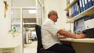 Küchenleiter Rudolf Niebling