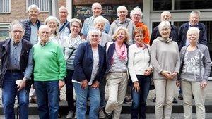 15 Jahre nach der gemeinsamen Pilgerreise trafen sich einige Teilnehmer zum kleinen Jubiläum.   Foto: privat