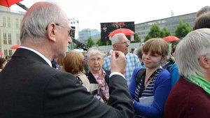 Kommunionausteilen ohne die Hilfe von Laien bei Großveranstaltungen wie dem Katholikentag in Leipzig - undenkbar. | Foto: Michael Bönte