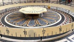 Das Foucaultsche Pendel im Panthéon in Paris
