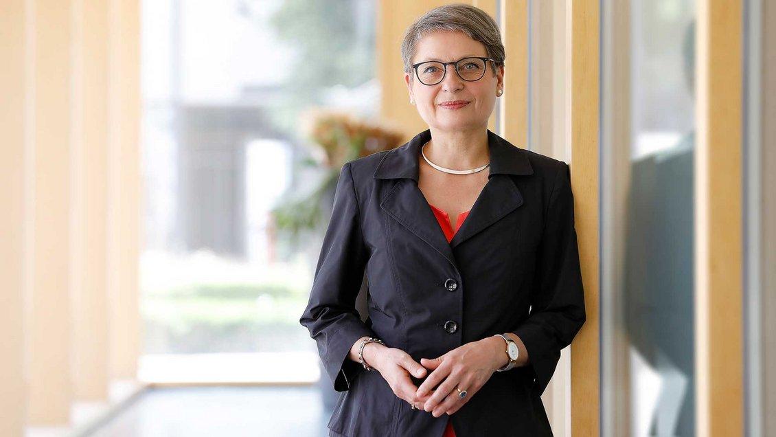 Bettina Limperg, Präsidentin des Ökumenischen Kirchentages Foto: Anja Koehler (Bundesgerichtshof)