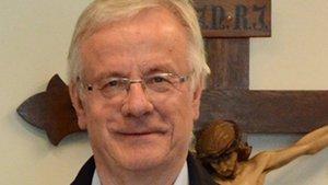 Gustav Peters, Vorsitzender des Stadtkomitees der Katholiken in Recklinghausen.