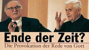 1998 diskutierten die Theologen Johann Baptist Metz und Joseph Ratzinger in Ahaus miteinander.