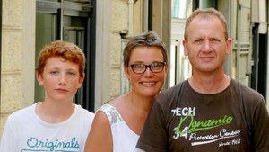 Leo, Diethild und Alfons Schürhörster. | Foto: privat
