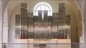 Woehl-Orgel, Klosterkirche Vechta. | Foto: Rainer Brüggehagen
