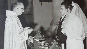 Hochzeit 1969 in der St. Amandus-Kirche in Datteln.
