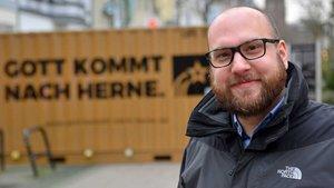 Gemeindereferent und Initiator des Projekts Dominik Mutschler. | Foto: Tobias Schulte / YOUPAX