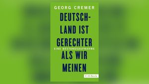 """Buchcover: Georg Cremer, """"Deutschland ist gerechter als wir meinen. Eine Bestandsaufnahme."""""""