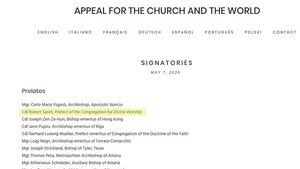 Detail der Liste der Unterzeichner bis zum 08.0ß5.2020