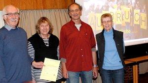 Konrad Neumann, Annegret Laakmann, Michael Ramminger und Magdalene Bussmann.