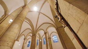 Blick in die renovierte St.-Servatii-Kirche im Zentrum von Münster.
