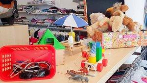 Spielzeug im SKF-Laden Recklinghausen