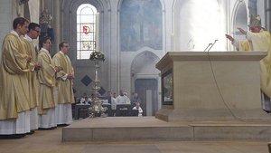 Segen von Bischof Felix Genn