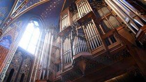 Die berühmte Orgel in der Marienbasilika wird bei der Einführung des neuen Pfarrers in Kevelaer erklingen. | Foto: Michael Bönte