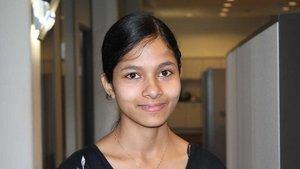 Ashna Sebastian, Krankenschwester aus Indien.