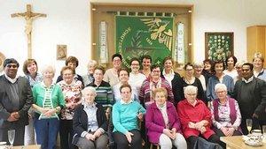 Eine Gruppe von Zwillbrocker Frauen.