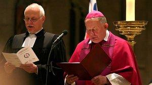 Friedrich Ostermann beim Ökumenischen Gottesdienst zur Aussendung des Friedenslichts im Dezember 2007.