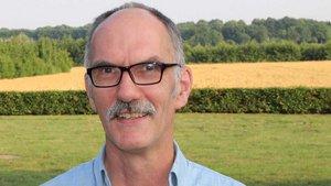Klaus Große Wiesmann, Landwirt in Dülmen-Hiddingsel. | Foto: Johannes Bernard