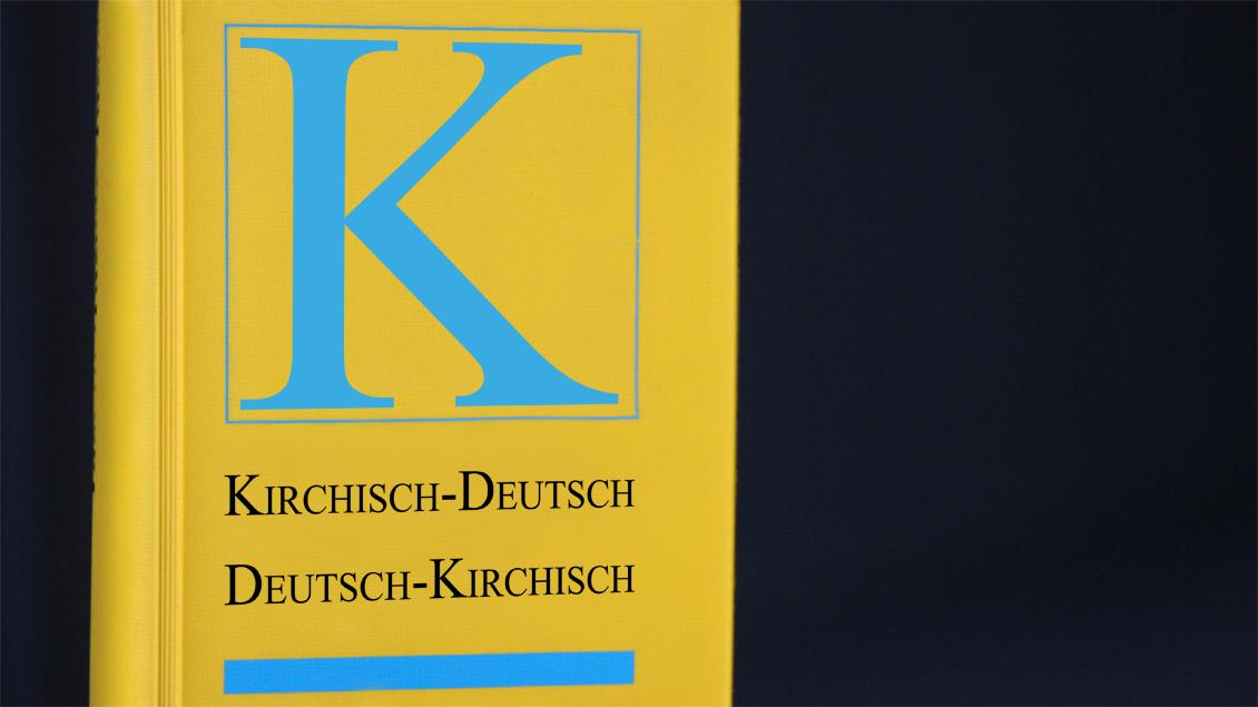 """Wörterbuch """"Kirchisch"""""""